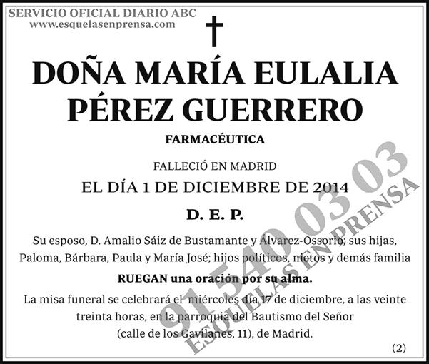 María Pérez Guerrero